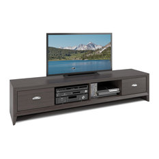 CorLiving Distribution LLC   Lakewood Extra Wide TV Bench, Modern Wenge  Finish   Entertainment Centers