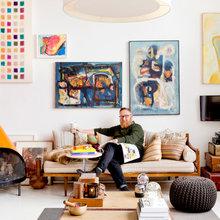 Houzz Tour: A Brooklyn Loft Defined by Art, Sunlight and Comfort