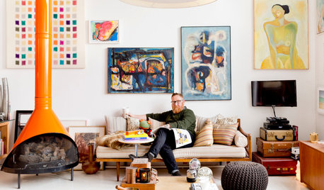 USA Houzz: An Art-Filled Loft Lets the Sunshine In