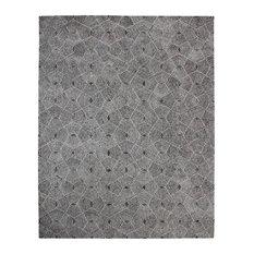 Web Hand-Tufted Wool Rug, 8'x10'