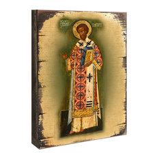 "Saint Chrysostom Icon, 16""x12"""