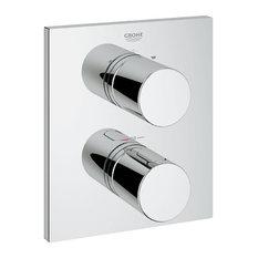 """GROHE US - GRT 3000 Cosmo Termostato empotrado para baño / ducha o ducha 3/4"""" - Conjuntos de grifos para bañera y ducha"""