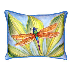 Dick's Dragonfly Outdoor Pillow