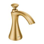 Moen Transitional Soap Dispenser Brushed Gold