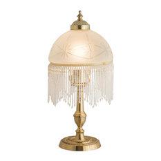 "Meyda Tiffany 202663 15"" High Roussillon Mini Lamp"