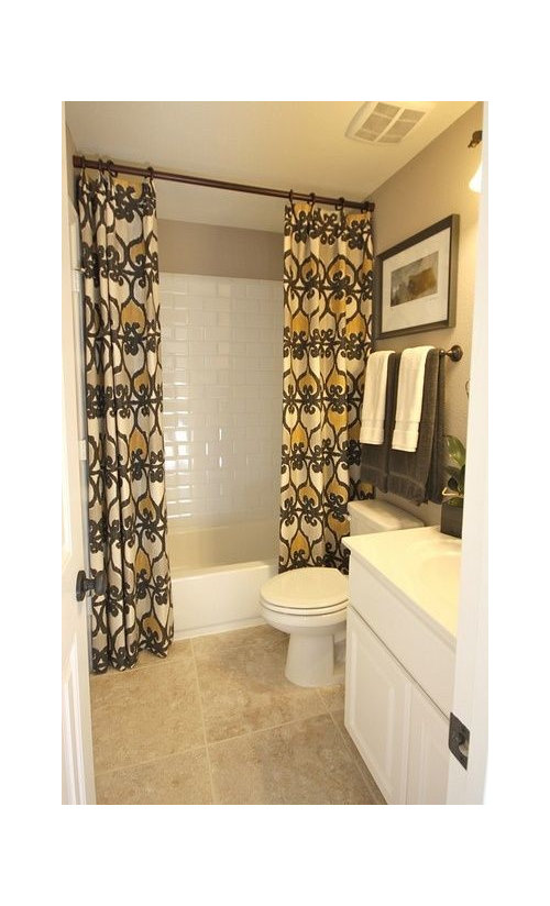 Shower Curtain 2 Panel Or 1, How To Use 2 Shower Curtains