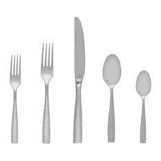 Fortessa Ringo 18/10 Stainless Steel Flatware 5-Piece Place Setting