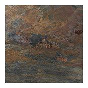"Multicolor Natural Cleft Slate Tiles 12"" x 12"" x 3/8"""