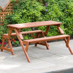 Convertible Picnic Table & Garden Bench
