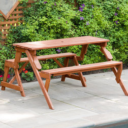 Transitional Outdoor Dining Sets by Leisure Season Ltd.