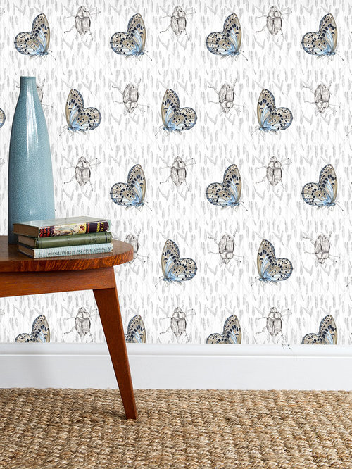 Butterfly & Beetle Wallpaper - Products