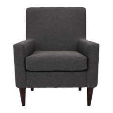 Most Popular Gray Armchairs And Accent Chairs For 2018 Houzz