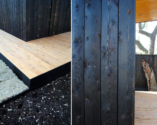 Japanese Charred Wood Houzz