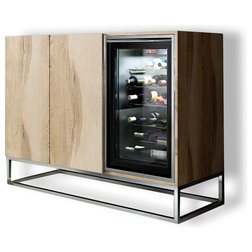 Contemporary Wine And Bar Cabinets by Macral Design Corp