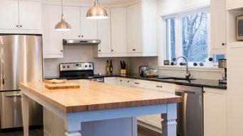 Moment kitchen remodel