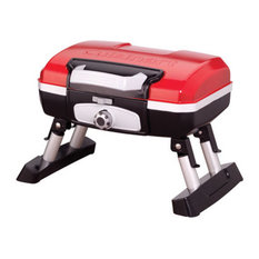 Texsport Portable Mini Tabletop Gas Grill, Red, 19""