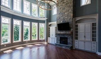 Stone Detail Custom Home