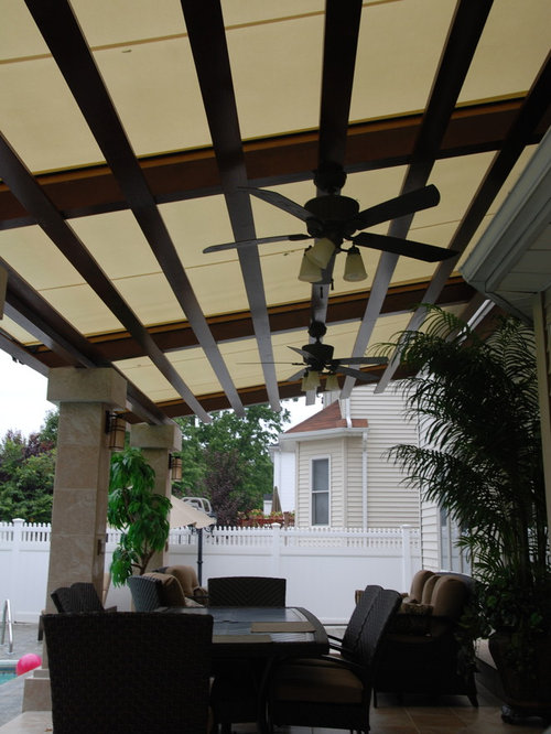 Retractable Canopy System by Breslow Home Design