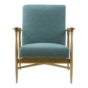 Floating Armchair, Indian Blue