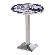 Tampa Bay Lightning Pub Table 36-inchx36-inch by Holland Bar Stool Company