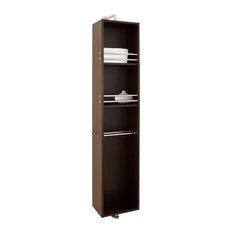 """Marcel 14"""" Linen Cabinet,Walnut"""