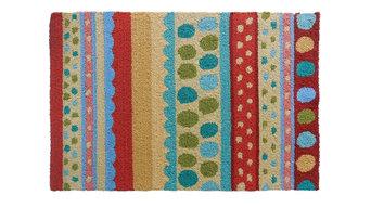 Stripes and Poka Dots Indoor Rug