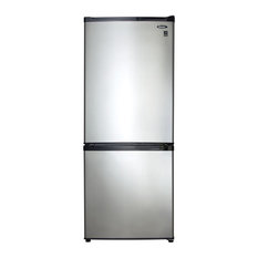 Danby Appliances - Danby Refrigerator, Black and Stainless Steel - Refrigerators