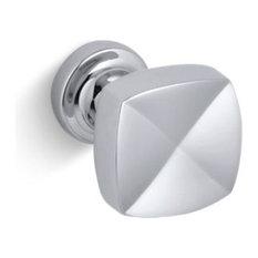 Kohler Margaux Knob Cabinet Hardware, Polished Chrome