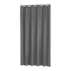 Madeira Shower Curtain, Grey