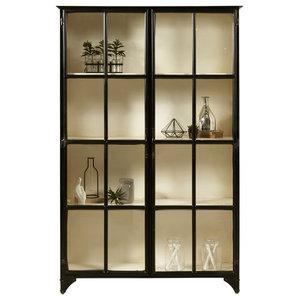 Maura Iron Display Cabinet