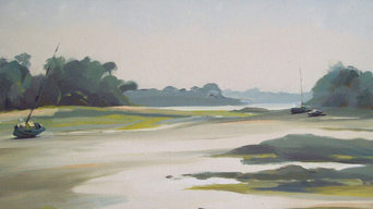 Rotheneuf, (St malo), huile sur toile, 73x54