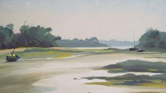 Rotheneuf, (St malo), huile sur toile, 73x54