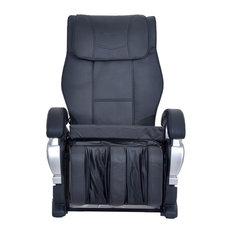 ExacMe   Exacme Electric Full Body Shiatsu Massage PU Leather Chair, Black    Massage Chairs