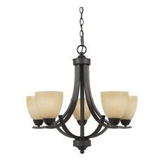 Value Collection 8001 5 Light Chandelier
