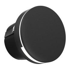 DALS Round LED Step Light, Black