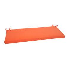 Sundeck Orange Bench Cushion