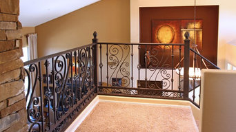Sicilian Iron Railing by First Impression Security Doors