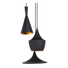 Carson Black Pendant Light