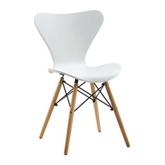 Jacop Wooden Chair, White