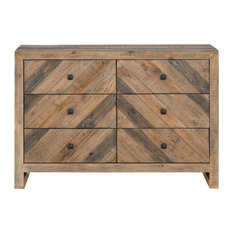 Moes Home Rustic Teigen Dresser With Brown Finish FR-1006-03