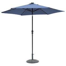 Contemporary Outdoor Umbrellas by Sun-Ray