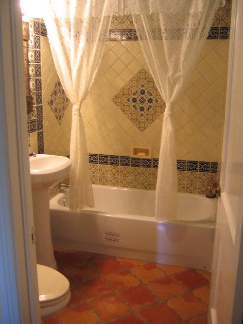 Saltillo espanola for 9x12 bathroom design