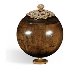 Small George Iii Round Walnut Box
