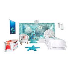 Mermazing Complete Mermaid Room, Blind Size 120x180 Cm