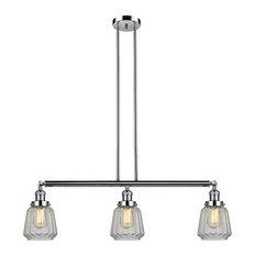 Innovations Lighting 213-Pn-S-G142-Led 3 Light Dimmable Led Island Light