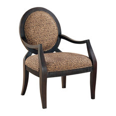 home furnishing leopard accent chair armchairs and accent chairs