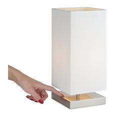 "Kira Home Lucerna 13"" Modern TOUCH Bedside LED Table Lamp + 4W Bulb"