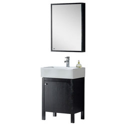 Luxury Contemporary Bathroom Vanities And Sink Consoles by Fine Fixtures View Imperial Collection Vanity With Medicine Cabinet Black