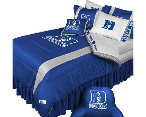 51 Llc Ncaa Duke Blue Devils Bedding Set College Football Bed Kids