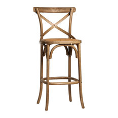 Gustave Bar Stool Antique Brown